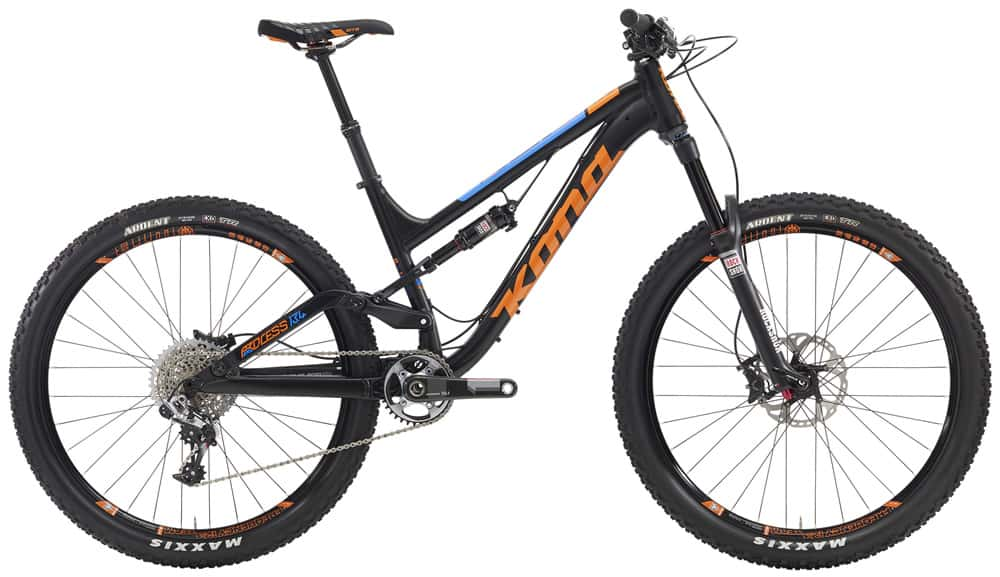 The all new 2016 Kona Process 134 Supreme.  Tasty.